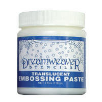 Transluscent Embossing Paste