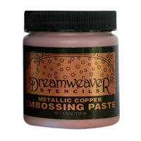 Metallic Copper Embossing Paste