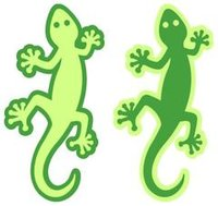 Gecko Laser Cut 6pc