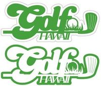 Golf Hawaii Laser Cut