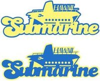 Submarine Hawaii Laser Cut